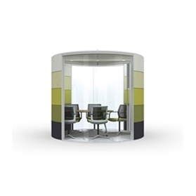 Orangebox Air - 12 Round Fixed Roof Meeting Pod
