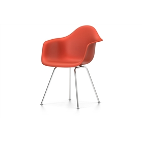 Vitra Eames DAX Chair, Poppy Red