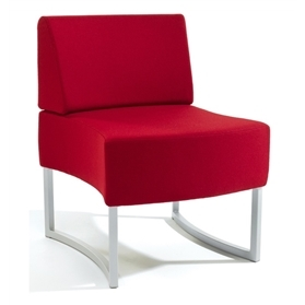 Verco Amoeba Single Bench Low Back