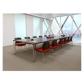 Boss Design Apollo Table (4500 x 1200mm) & 13 Boss Design Mars Chairs