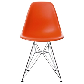 Vitra Eames DSR Chair, Red