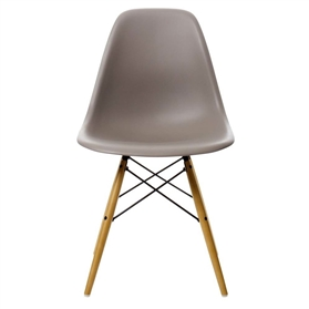 Vitra Eames DSW Chair, Mauve Grey
