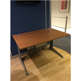 Elite Kassini Rectangular Desk, Cherry (8 In Stock)