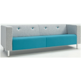 Verco Jensen Retro-style Three Seater Sofa