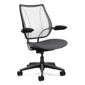 Humanscale Liberty Task Chair Pinstripe, White