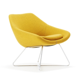 10 - 15 Days Allermuir Open Lounge Chair - Xpress Delivery