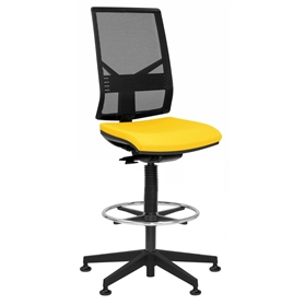 Elite Mix Mesh Draughtsman Chair