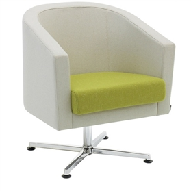 Verco Roma Swivel Tub Chair