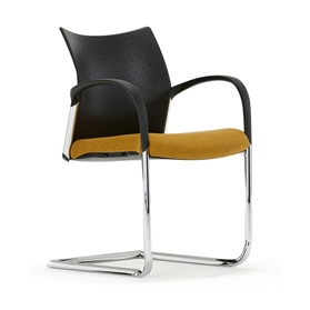 Senator Trillipse Cantilever Meeting Chair - Plastic Back
