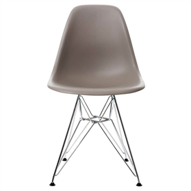 Vitra Eames DSR Chair, Mauve Grey