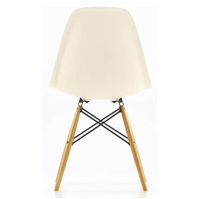 vitra eames dsw side chair cream