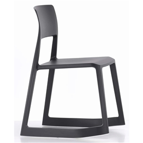 Vitra Tip Ton Chair, Black Basic dark (01)