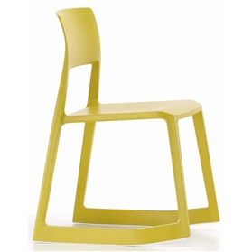 Vitra Tip Ton Chair, Mustard Yellow (34)