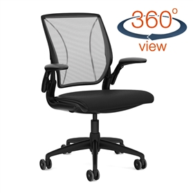 Humanscale Diffrient World Chair - All Black COMFORT