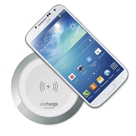 aircharge Wireless Surface Charger White Aluminium