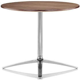 Boss Design Axis 740mm High Black American Walnut Table