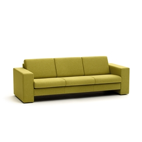Edge Design Crisp Three Seat Sofa