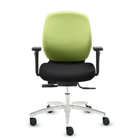 Dauphin Shape Comfort Medium Back Office Chair