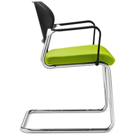 Dauphin Shape Elan Cantilever Visitor Chair