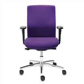 Dauphin Sim-o Operator Medium Back Swivel Chair