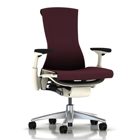 Herman Miller Embody White, Mulberry Rhythm
