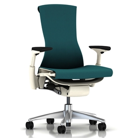 Herman Miller Embody White, Peacock Rhythm