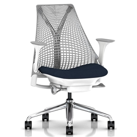 NEXT DAY DELIVERY! PRE ORDER Herman Miller Sayl Office Chair, Vico Navy Blue