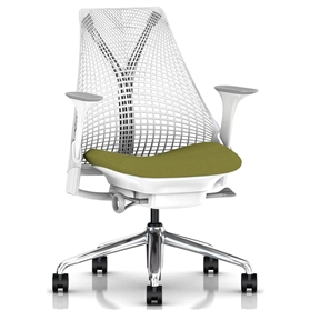 Herman Miller Sayl Office Chair, Pesto