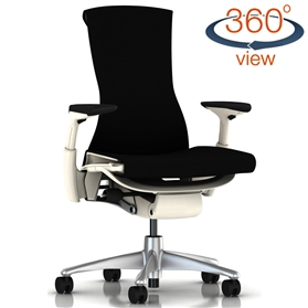 Herman Miller Embody White Edition, Balance Black