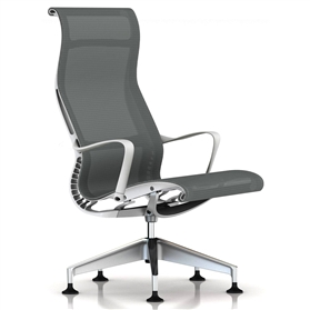 Herman Miller Setu Lounge Chair, Alpine