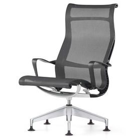 NEXT DAY DELIVERY Herman Miller Setu Graphite Edition Office Chairs UK