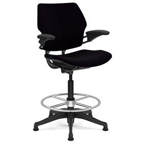 Humanscale Freedom Chair High Cylinder and Footring