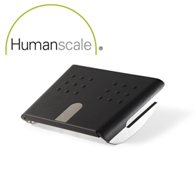 NEXT DAY DELIVERY! Humanscale FM 500 Rocking Foot Rest, Black