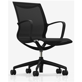 Komac KARA Work Chair, Black Edition
