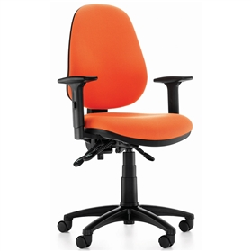 Komac Dot Round High Back Operators Chair