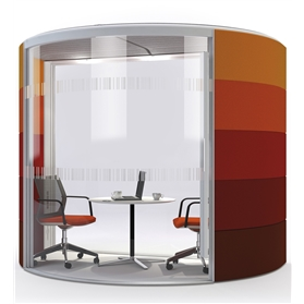 Orangebox AIR 10 Half Round Acoustic Pod Fixed Roof