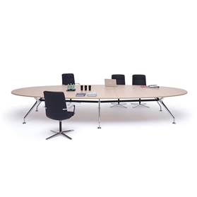 Orangebox Lano Oval Meeting Tables