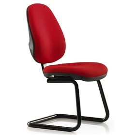 Pledge Topaz High Back Cantilever Meeting Chair