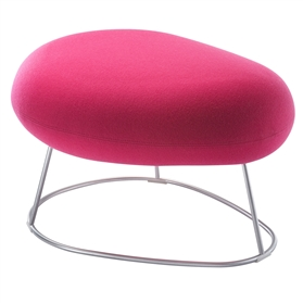 Connection Bubble Upholstered Stool