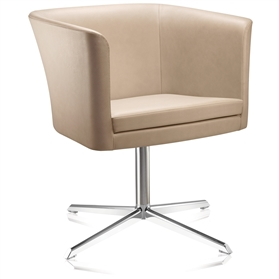 Connection Courier Swivel Armchair