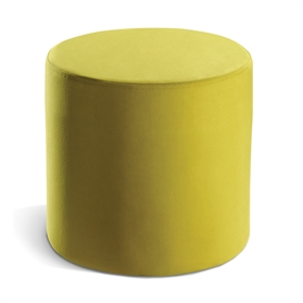 Connection Cubix Upholstered Circular Stool