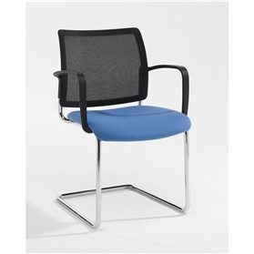 Verco Add Mesh Back Stacking Chair