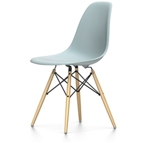Vitra Eames DSW Chair, Moss Grey
