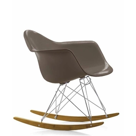 Vitra Eames RAR Rocking Chair, Mauve Grey