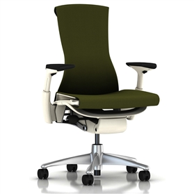 Herman Miller Embody White, Green Apple Rhythm