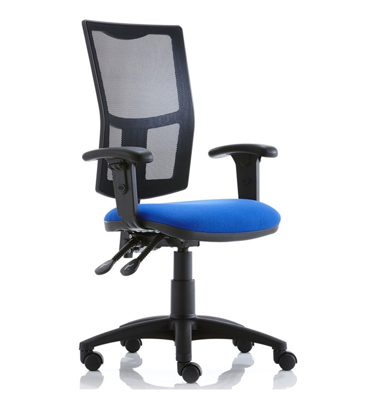 Torasen Mercury Mesh Back Office Chair with Height Adjustable Arms