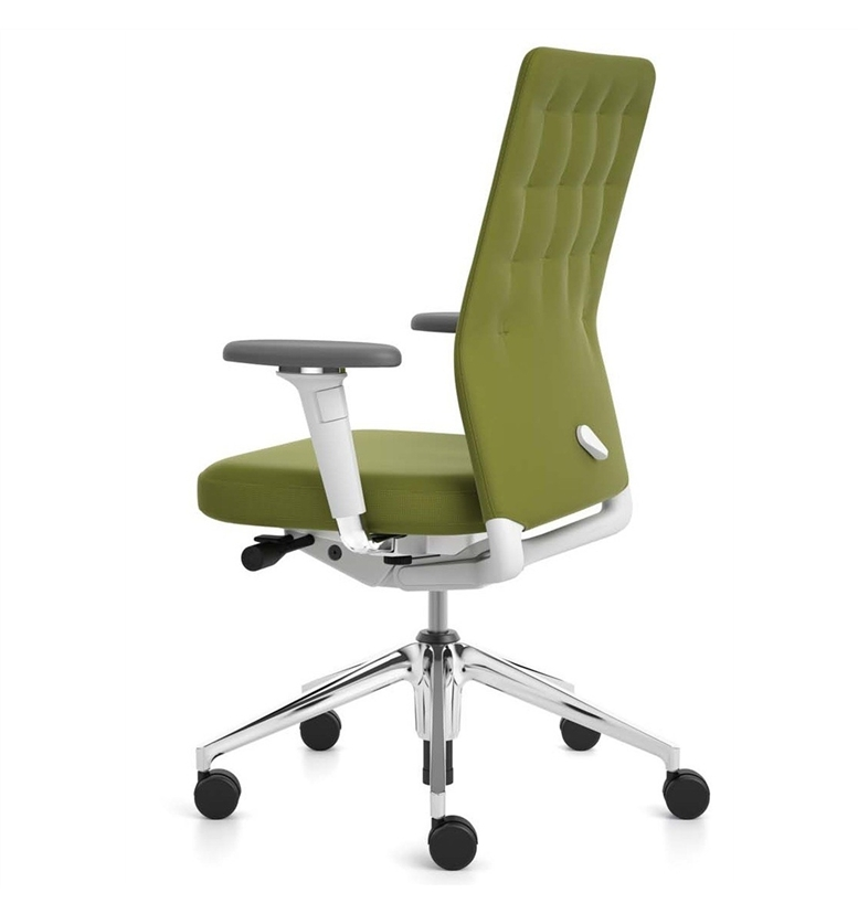 Vitra ID Trim Swivel Office Chair : vitraidtrimgreen Office Chair <strong>with Adjustable Back</strong> from www.officechairsuk.co.uk size 777 x 828 jpeg 99kB