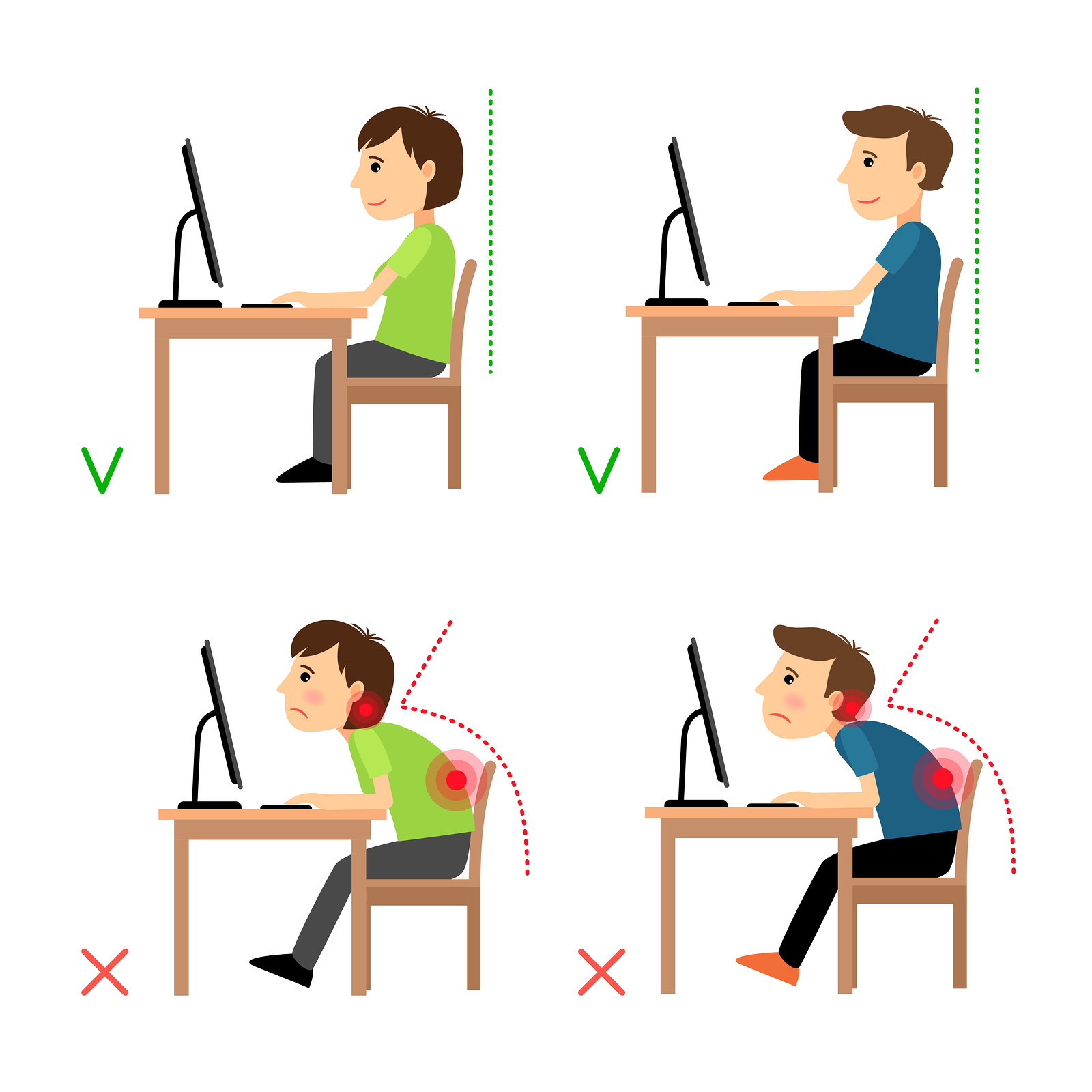 32 Ways To Stop Work Related Back Pain from Office Chairs UK