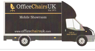 Office Chairs UK Mobile Showroom