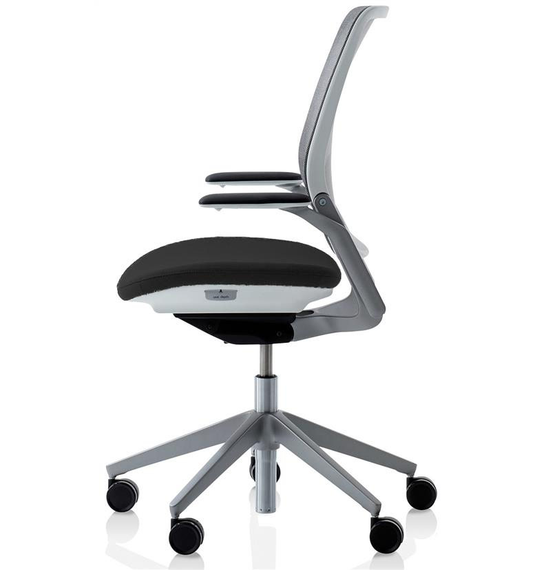 Orangebox Eva Industrial Silver Edition Office Chairs Uk